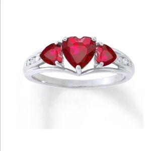 ♥️ Kay Jewelers Ruby | Sapphire Cocktail Ring